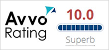 AVVO Rating - 10.0 Superb
