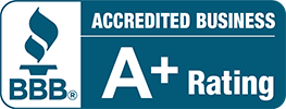 BBB(R) - Accredited Business A+ Rating